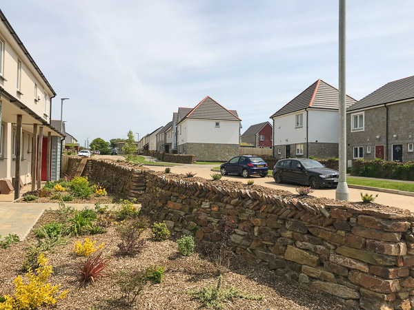 housing development Camborne